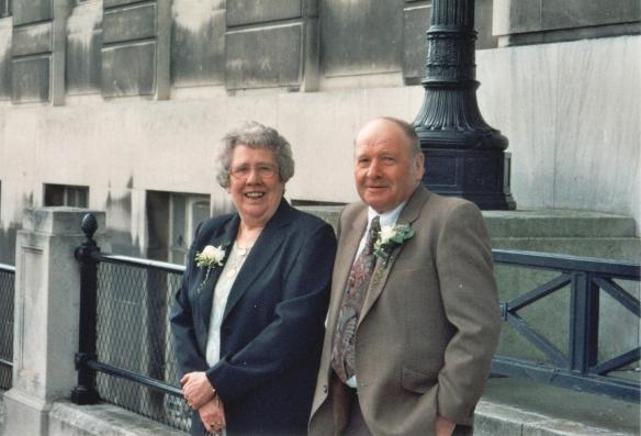 My Nanan and Grandad from my dad's wedding almost 10 years ago.